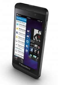 Blackberry Z10, Bild: Blackberry